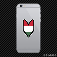 Hungarian Driver Badge Cell Phone Sticker Mobile Hungary HUN