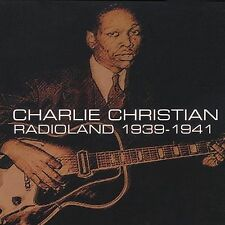 Charlie Christian: Radioland 1939-41 CD Jazz Electric Guitar Pioneer Ships Free