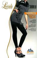 Leggings Felpato coprente LEVANTE termico colore nero