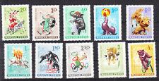 HUNGARY  1968  CIRCUS- WILD ANIMALS SET  MNH Vf