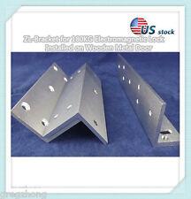 ZL-Bracket for 180KG  Electromagnetic Lock  Installed on Wooden Metal Door/US