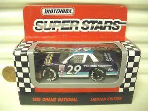 Matchbox Racing Boxed Cars Earnhardt Gordon Irvan Penrose Slim Jim Gant Burton