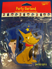 Rescue Pals Dog Police Officer Kids Birthday Party Decoration Printed Garland