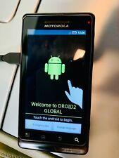 """Motorola Droid 2 - 8GB - Black (Verizon) Slider Smartphone A956 """"TESTED"""""""