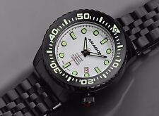 Aragon A253WHT Divemaster EVO IP Black Super Luminova Dial Automatic 50mm