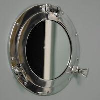 vintage style porthole round coastal wall mirror shabby vintage home chic
