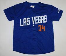 LAS VEGAS 51s NOAH SYNDERGAARD NEW YORK METS AAA Minor League JERSEY Youth L