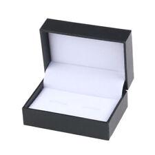 Luxury Cufflink Storage Gift Box Jewelry Organizer Cuff Link Display Case Holder