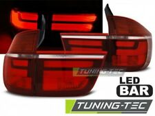 Coppia Fari Fanali Posteriori Tuning BMW X5 E70 2007 -> 2010 Rosso Bianco LED