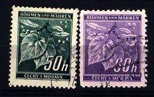 GERMANY - GERMANIA - BOEMIA E MORAVIA - 1940 - 1941 - Ramo di tiglio con frutti