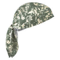 CHILL-ITS BY ERGODYNE 6710 Evaporative Cooling Triangle Hat, Camo