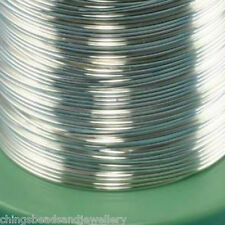 3M Sterling Silver Round Wire 0.6mm (22 gauge) Jewellery Making