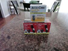 Accu-Chek Guide Tet Strips 2 boxes/50 Lancets/ FastClix 1 box/100