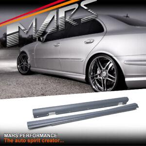 AMG E63 Style Side Skirts Bodykit Bodykit for Mercedes Benz E-Class W211 E Class