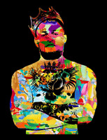 Notorious Conor McGregor The King Art Poster Print Glossy 8x10 Hologram MMA