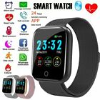 Women Men Smart Watch Heart Rate Monitor Fitness Tracker for Android iPhone New