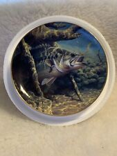 No Sure Thing Bass Beauties Danbury Mint Collector Plate