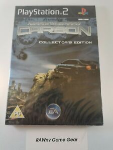 PS2 Need for Speed Carbon Collector's Edition, UK Pal, New & Factory Sealed