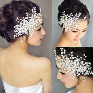 Pearl Bridal Hair Comb Hair Accessories Wedding Headpiece Women Hair Jewelry