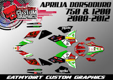 FOR APRILIA DORSODURO 750 1200 2008-2012  FULL GRAPHICS KIT DECALS  STICKERS MX