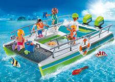 PLAYMOBIL® 9233 Glass-Bottom Boat w Underwater Motor NEW 2017 S&H FREE WORLDWIDE