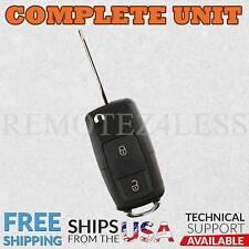 Replacement for Ford Lincoln Mercury Mazda Flip Keyless Remote Car Key Fob 3btn