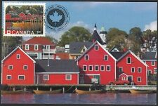 CANADA #2739b - LUNENBERG, NS, UNESCO WORLD HERITAGE SITE- MAXICARD