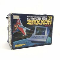 Bandai FL Zaxxon Retro Tabletop Video Game In Box WORKING PERFECTLY Rare Sega