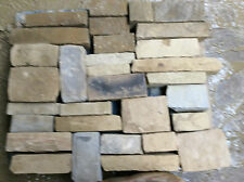 Random Sized Reverse Pitched (Tumbled) walling