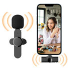 Wireless Lavalier Microphone Mic For Android Phone iPhone ipad Vlog Live Stream