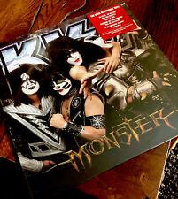 """KISS EU Sticker  """"Monster"""" Vinyl LP , Mint, verschweißt !!! Voucher! Last One"""
