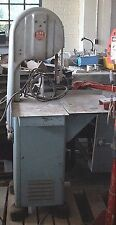 """12"""" Biro No. 22 meat-cutting bandsaw. All Stainless + alloy. MEETS STANDARDS!"""
