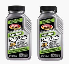 2pk~Bar's Leaks Radiator STOP LEAK 6 oz Cooling System Sealer & Conditioner 1194