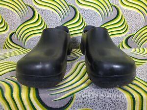 BIRKENSTOCK Professional Black Safety Toe Chef Clogs Shoes Eur 44 US Men 10.5