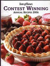 Cook Book - Taste of Home's Contest Winning Annual Recipes 2006 - Heidi Lloyd