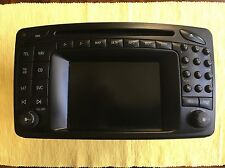 Mercedes G Wagon G Class Genuine Command Navigation 2.0 GPS Radio CD LCD Screen