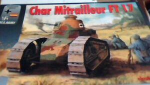 RPM char mitrailleur tank FT 17 nib kit 1/35th
