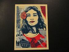 """SHEPARD FAIREY Obey Giant Sticker 5.5/"""" WE THE PEOPLE FEAR from poster print"""