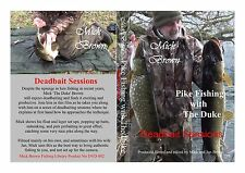 PIKE FISHING DVD - DEADBAIT SESSIONS Mick Brown - SIGNED COPIES