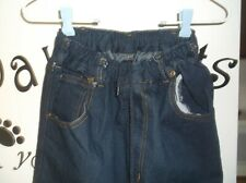 men's all elastic waist jeans size small