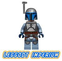 LEGO Minifigure Star Wars - Jango Fett - sw468 minifig FREE POST