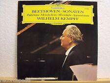 ★★ LP-Wilhelm Kempff-BEETHOVEN-SONATE-DG 139 300 // 1968