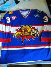 Reebok Moncton Wildcats Game Worn Used Jersey Brandon Gormley 56 Authentic RARE