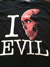 I Love Evil T-shirt 2Xl Evil Dead Horror Block