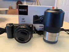 SONY Alpha a5100 24.3MP Digital Camera - Black (with E PZ OSS 16-50mm Lens)