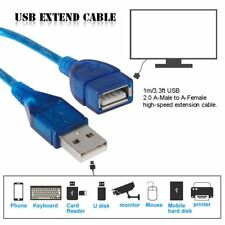 1m/3.3ft USB 3.0 Male to Female Data Cable Extension Cord For PC Laptop Computer