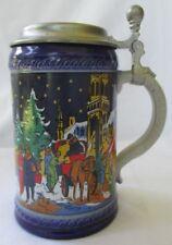MUNICH CHRISTMAS FAIR 1979 LIMITED EDITION LIDDED BEER STEIN