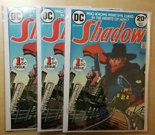 10-The Shadow #1 NM High Grade Lot Collection Not CGC Silver Bronze Age Comics