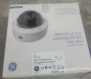 GE Security UVD-ip-XP3DNR-VA2 Rugged Domed Ip Camera Vandal Resistant