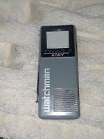 """Vintage Sony Watchman Model FD-10A - 2"""" Screen"""